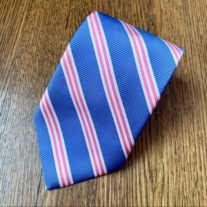 Brooks Brothers Blue & Red Striped Tie